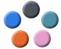 5色のカラーバリエーション